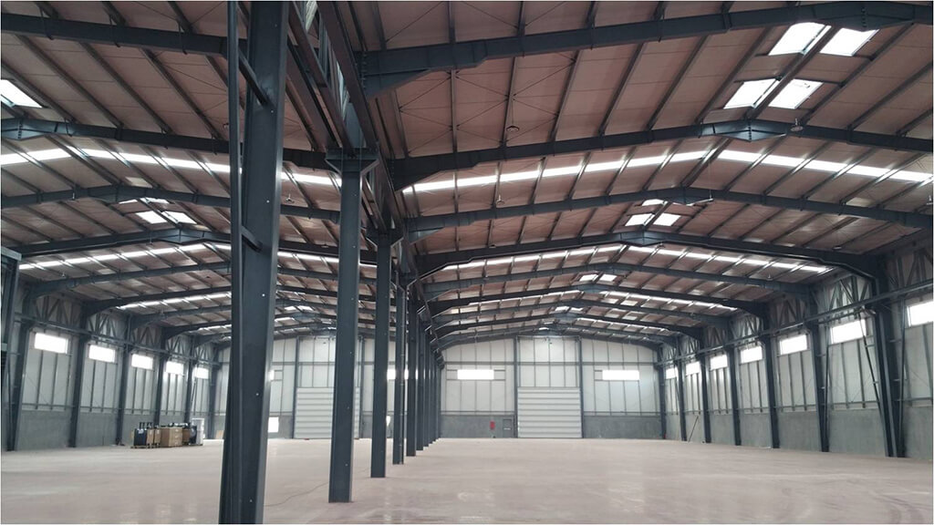 We completed the construction of our client s production for Aluminios cortizo