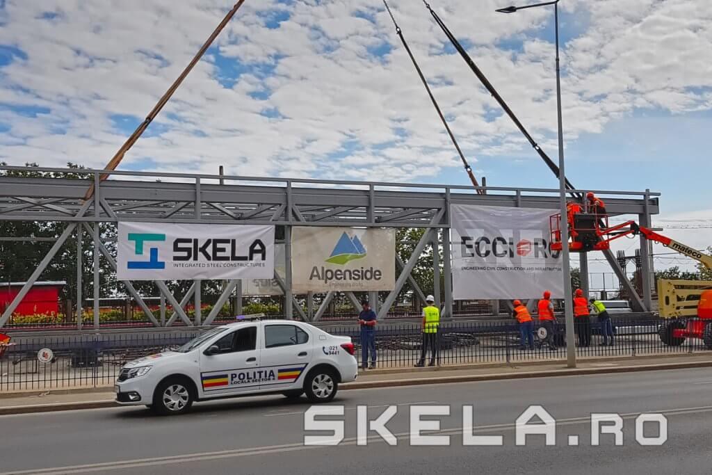 Skela Industries - pasarela metalica pietonala 65 m