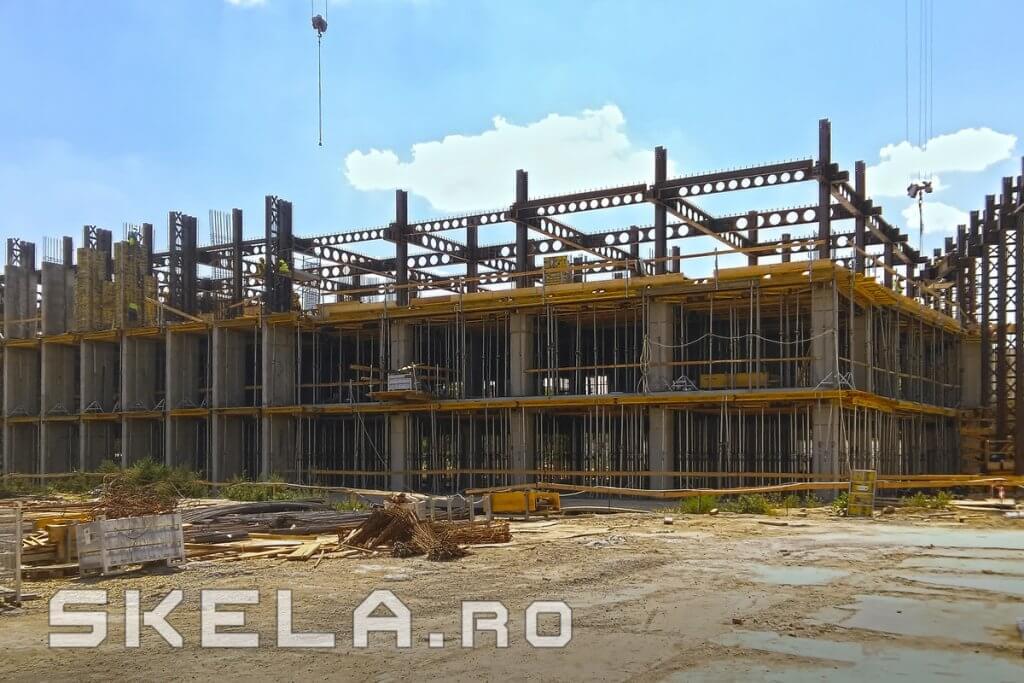Structura metalica pt. cladire de birouri - Skela Industries