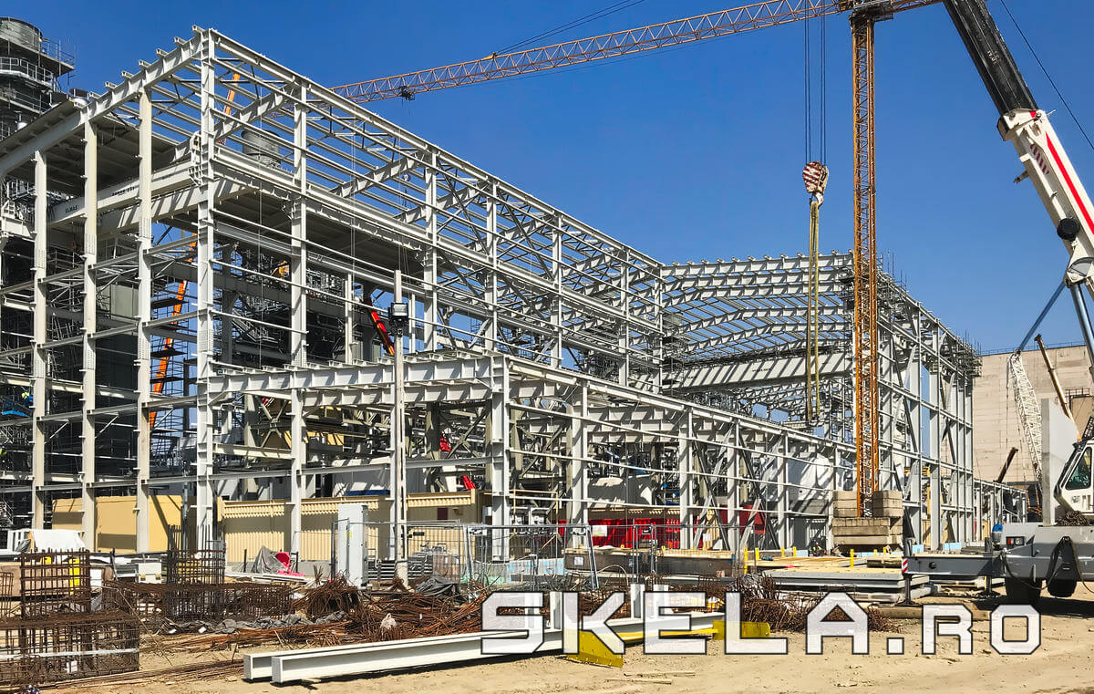 Structuri hale metalice industriale - Skela Industries